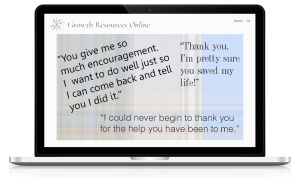 Growth Resources Online, Personal Growth, Online Courses, Testimonials 4