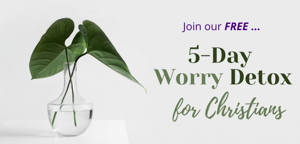 worry, anxiety, Christian growth, Growth Resources Online